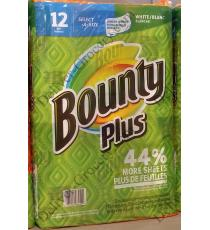 Bounty Plus Paper Towels 12 Rolls