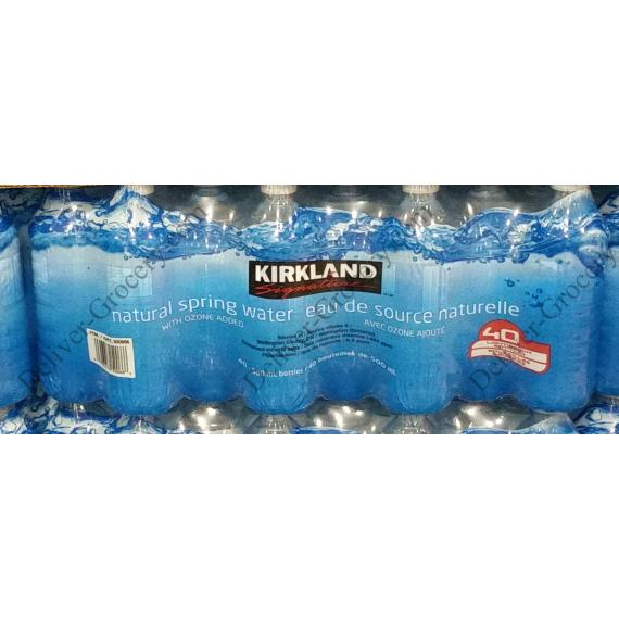 Kirkland Signature d'Eau de source Naturelle 40 x 500 ml