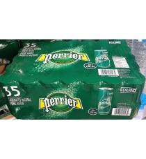 Perrier Carbonated Natural Spring Water 35 x 250 ml