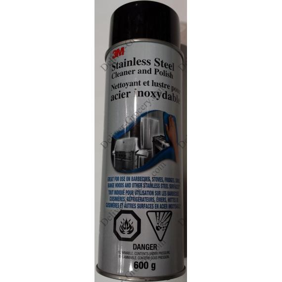 3M Stainless Steel Cleaner and Polish, 600 g