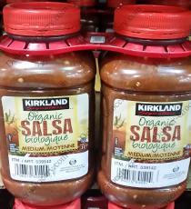 Kirkland Signature Organic Salsa 2 x 1 L