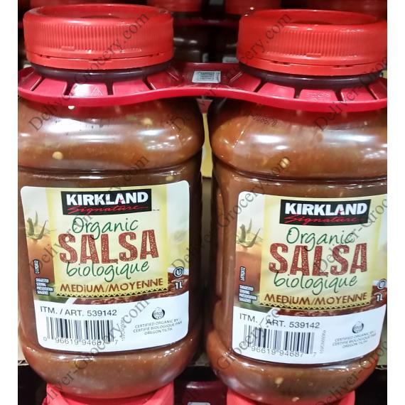 Kirkland Signature Biologique de la Salsa 2 x 1 L