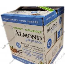 Almond Preference Organic Fortified Vanilla Beverage 6 x 946 ml