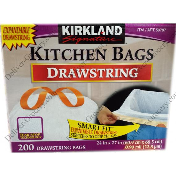Kirklnad Kitchen Bags, 200 bags