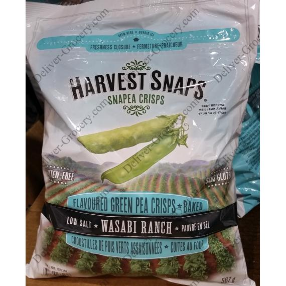 Harvest Snaps Flavoured Green Pea Crisps - Baked 567 g