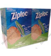 Ziploc Sacs à Sandwich, 4 x 150 packs