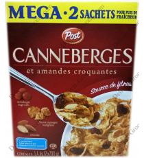 Post Canneberges, Amandes Crunch 1,4 kg