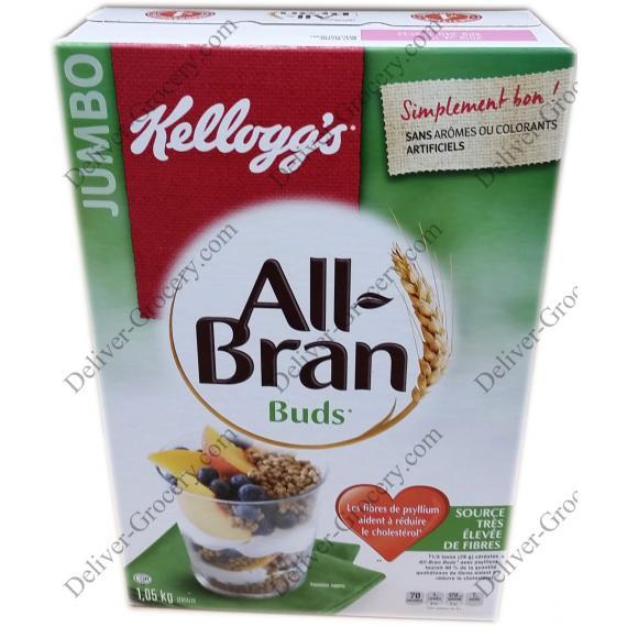 Kelloggs All-Bran Buds, 1.05 kg