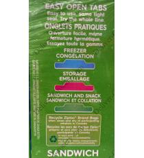 Ziploc Sandwich Bags, 4 x 150 packs