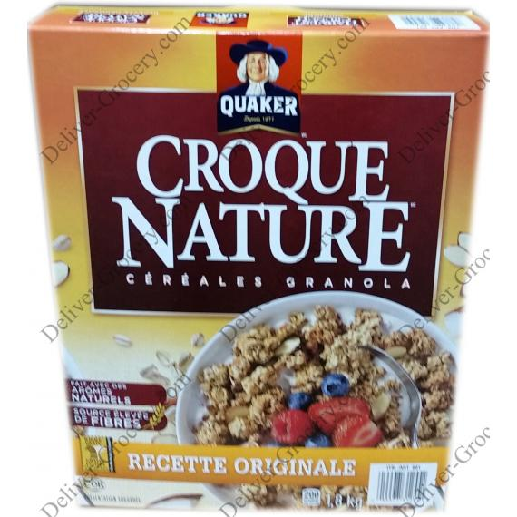 Quaker Harvest Crunch Granola Cereal, 1.8 kg