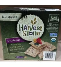 Harvest Stone Organic Brown Rice, Sesame & Flax Crackers, 567 g