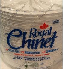 Royal Chinet Dinner Plates, 150-pack