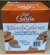 RW Garcia Sweet Potato Crackers 850 g ( 2 x 425 g )