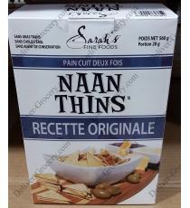 Sarahs Naan s'Amincit Double de Boulangerie de Pain Naan 560 g