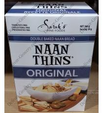 Sarahs Naan Thins Double Baked Naan Bread 560 g