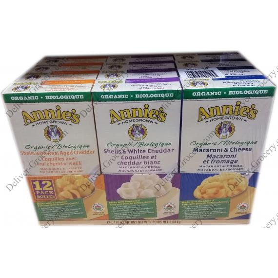Annies Organic Macaroni & Cheese 12 x 170 g