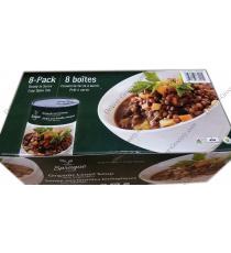 Soupe de lentilles biologique Sprague aux légumes 8 x 398 g