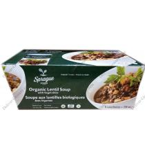 Sprague Organic Lentil Soup with Vegetables 8 x 398 g