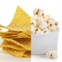 Chips et pop-corn